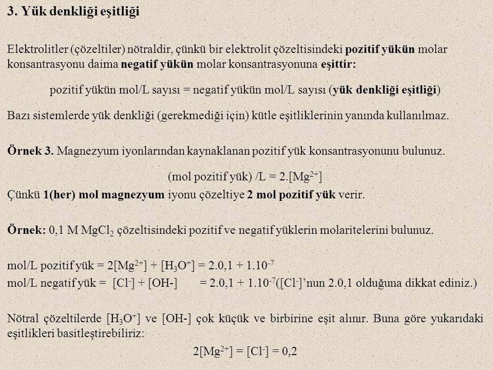 (mol pozitif yük) /L = 2.[Mg2+]